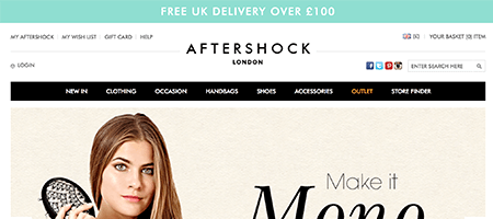 Shops Like Aftershock London