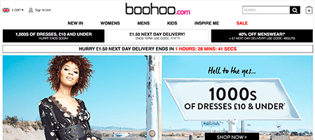 Shops Like Boohoo